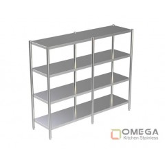 4 - TIERS PLAIN SHELVES 2