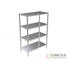 4 - TIERS PLAIN SHELVES 1