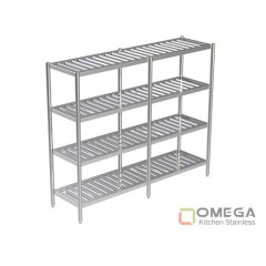 4 - TIERS SLATTED SHELVES 2