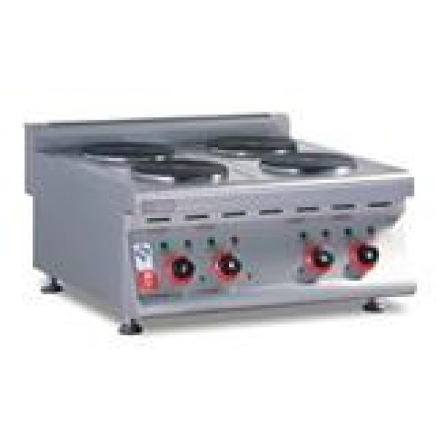 Electric 4-plate Cooker (Countertop)