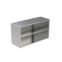 OPEN WALL CABINET W/UNDER SHELF 2