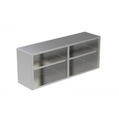 OPEN WALL CABINET W/UNDER SHELF 3