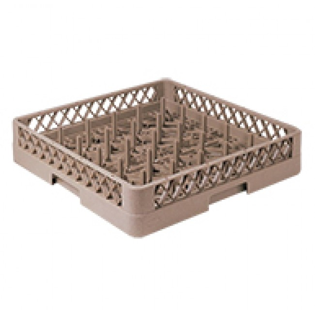 25-Compartment Plate &Tray Rack
