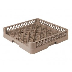 25-Compartment Open Plate &Tray Rack