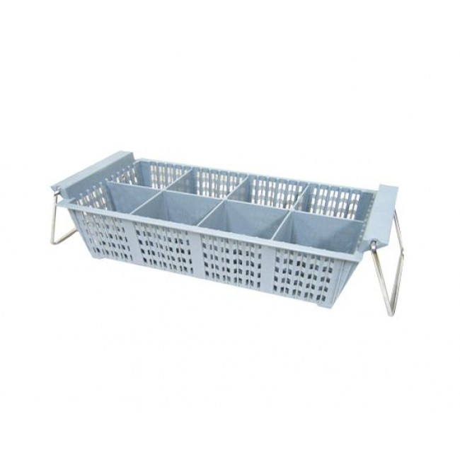 8-Compartment Cutlery Basket (with handle)