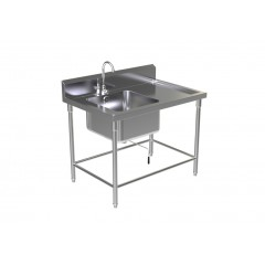 SINK TABLE W/FAUCET