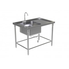 SINK TABLE W/FAUCET 2