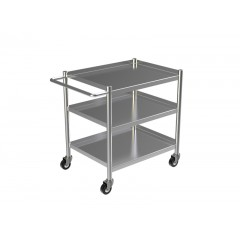 STAINLESS STEEL KITCHEN TROLLEY 1