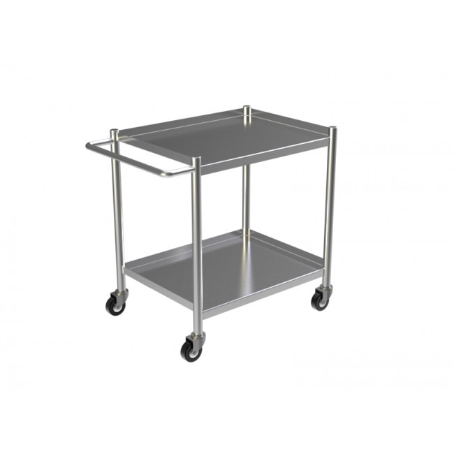 STAINLESS STEEL KITCHEN TROLLEY 2
