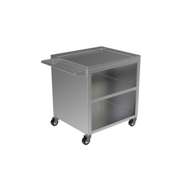 STAINLESS STEEL KITCHEN TROLLEY 3