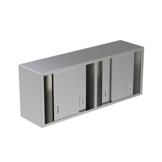 Sliding door sliding door wall cabinet inspiring for Kitchen wall cabinets sliding glass doors