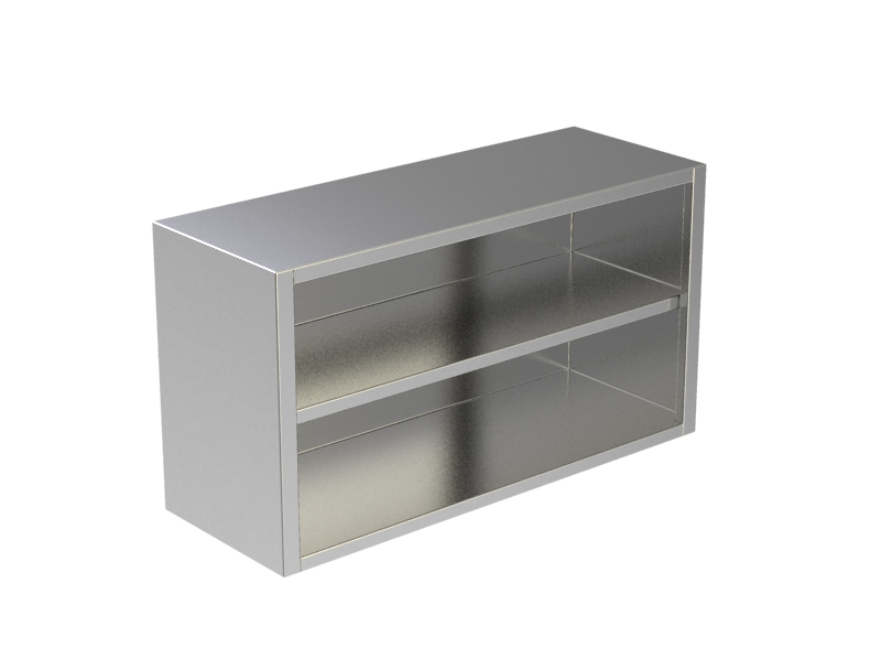 OPEN WALL CABINET W/UNDER SHELF 1