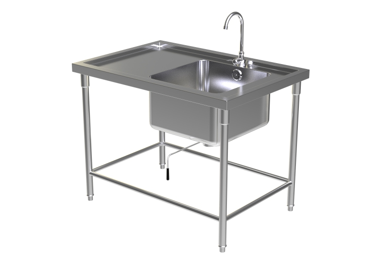 SINK TABLE W/FAUCET 4